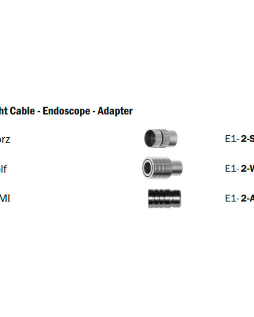 Light-Cable---Endoscope---Adapter